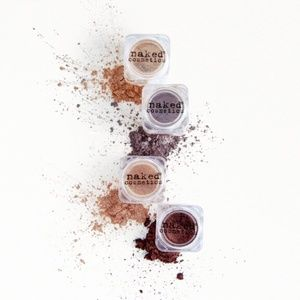 Naked Cosmetics 4-Piece Pigment Set- Brand New